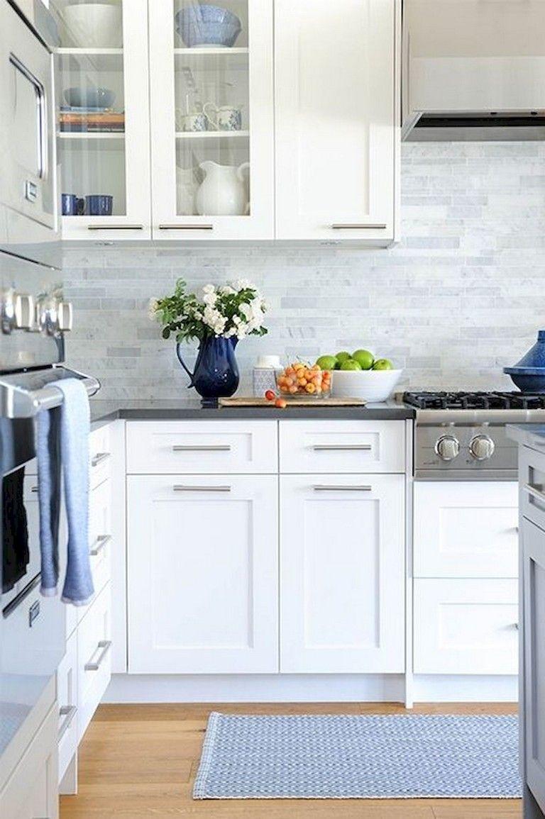 20 Amazing White Shaker Cabinets Kitchen Ideas Contemporary Kitchen Cabinets Kitchen Cabinets Decor Kitchen Cabinet Remodel