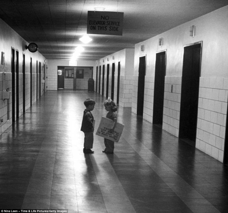 Inside the 1940s new york city school where 11yearolds