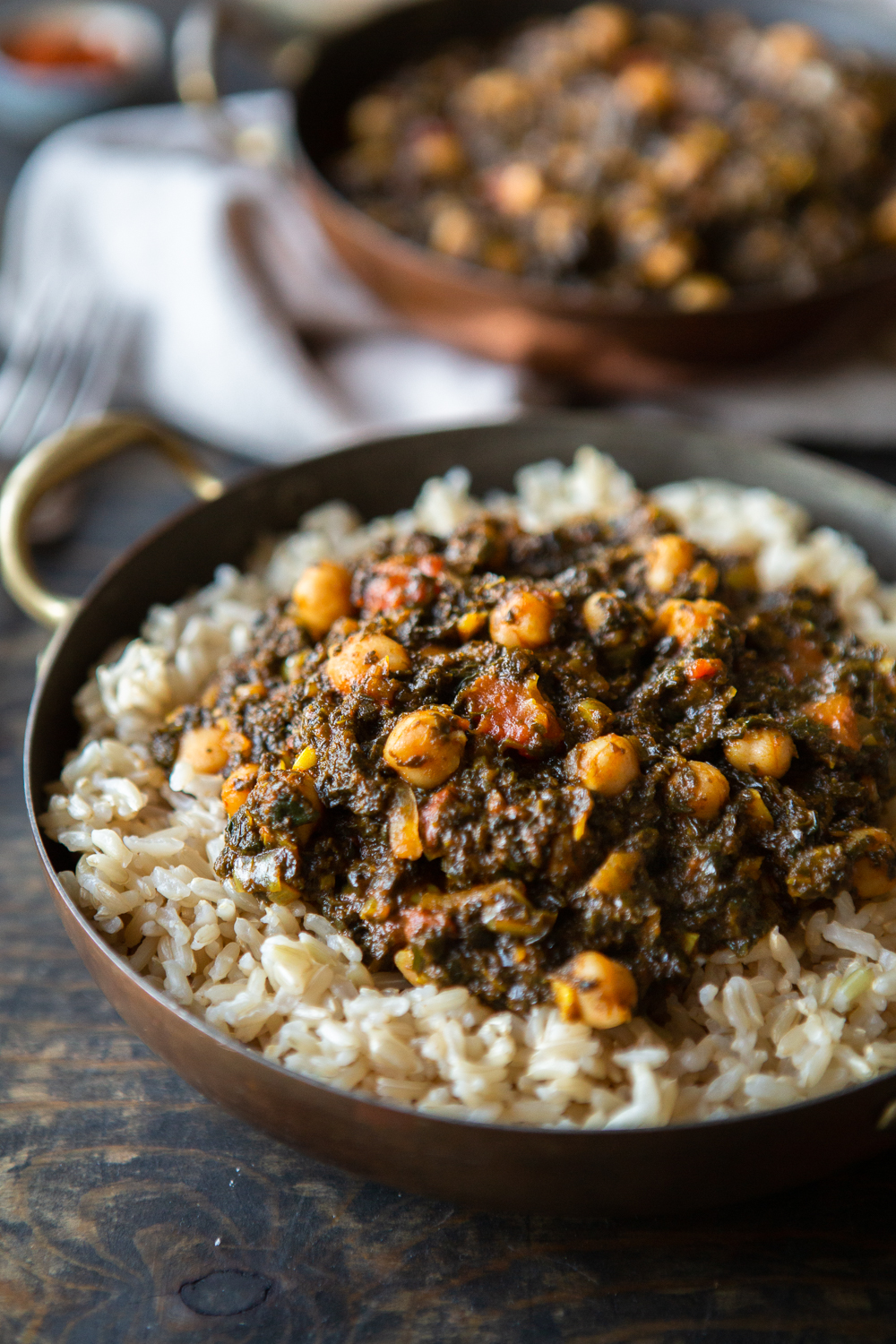 Ghanaian Spinach Stew With Chickpeas Vegan The Minimalist Vegan Recipe In 2020 Ghanaian Food Recipes African Food