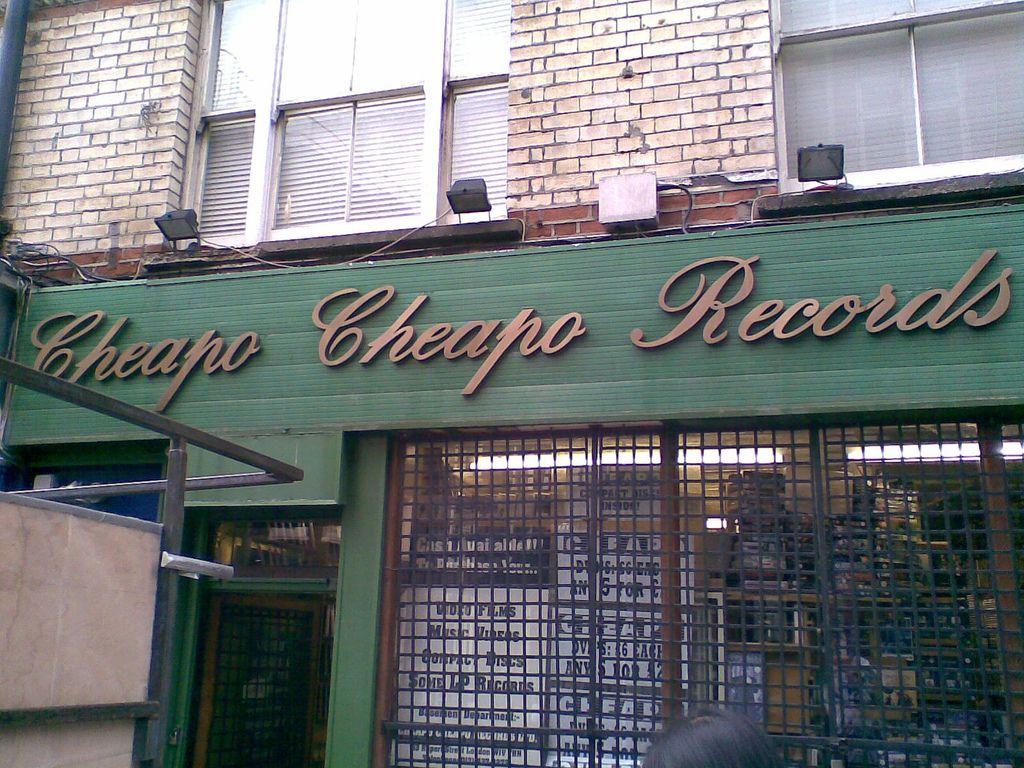 Cheapo Cheapo Records in Soho