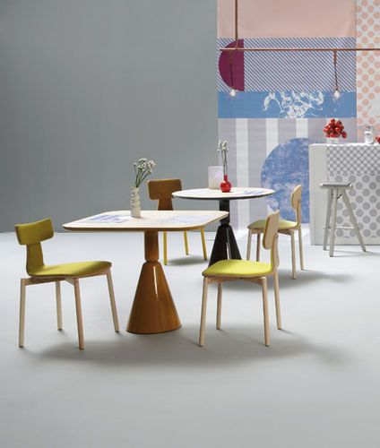 Stuhl / Skandinavisches Design / Aus Esche / Polster SILLA40 By Nadadora  SANCAL
