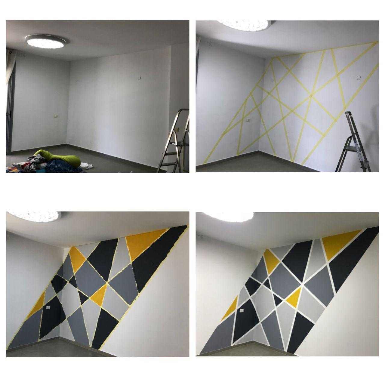 Pin de Nunuki en Wall painting | Decorar pared habitacion