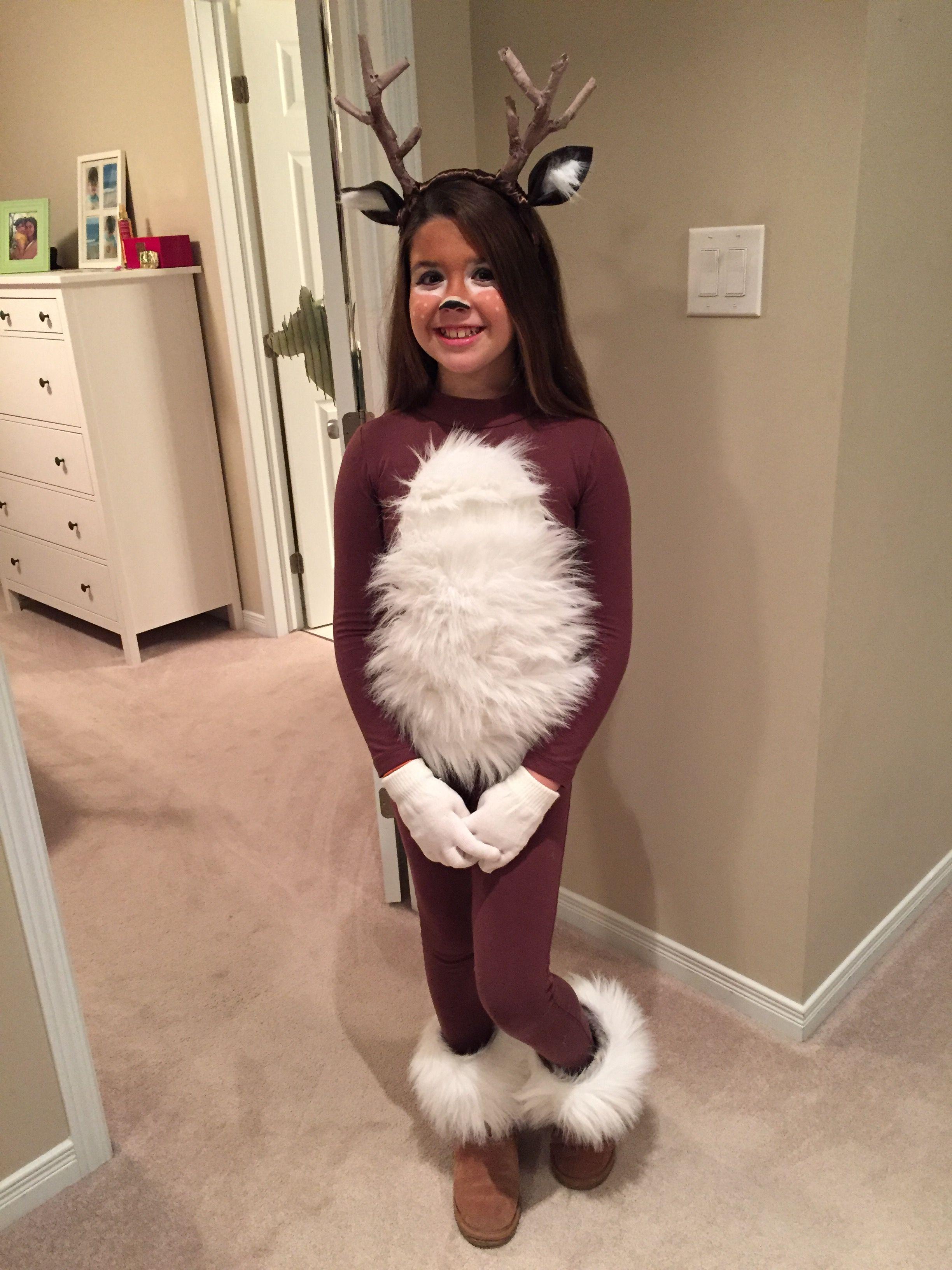 Deer Costume Diy | Halloween In 2019 | Halloween Costumes