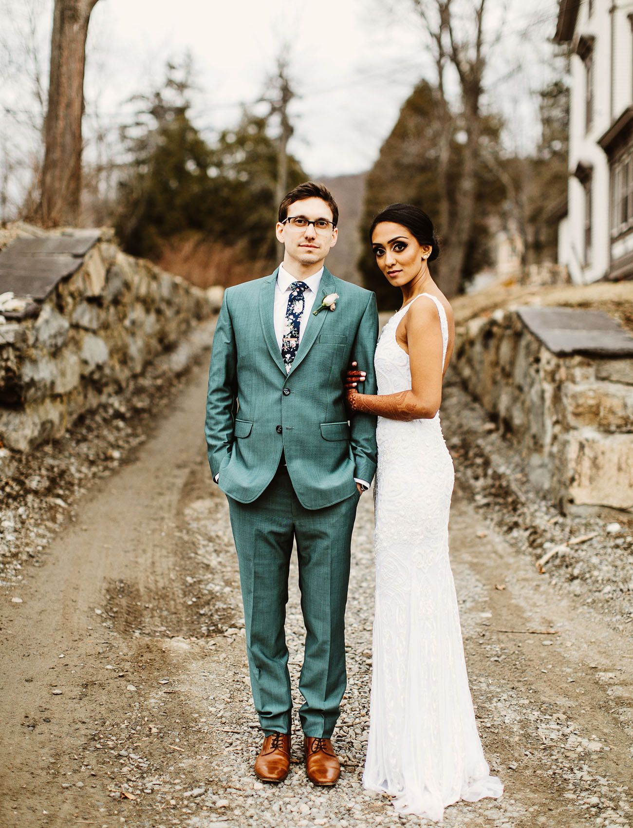 Mixing Up Traditions A Vibrant Indian Wedding With Hip Rustic Reception Green Shoes