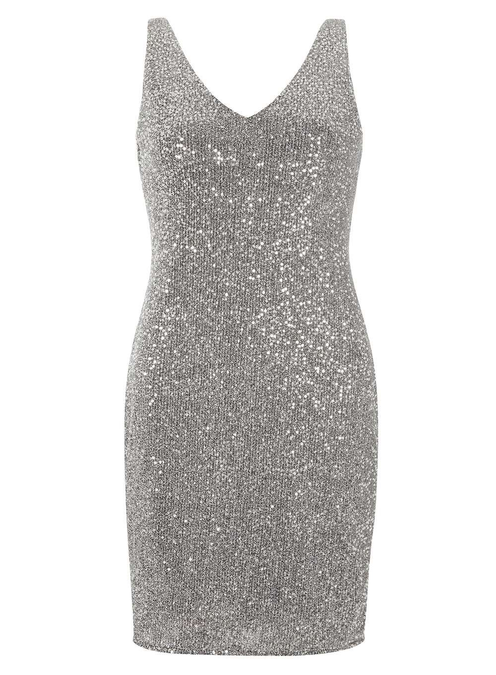c260a1c733ba4 Sequin shift dress - Going Out & Partywear - Clothing - Dorothy Perkins