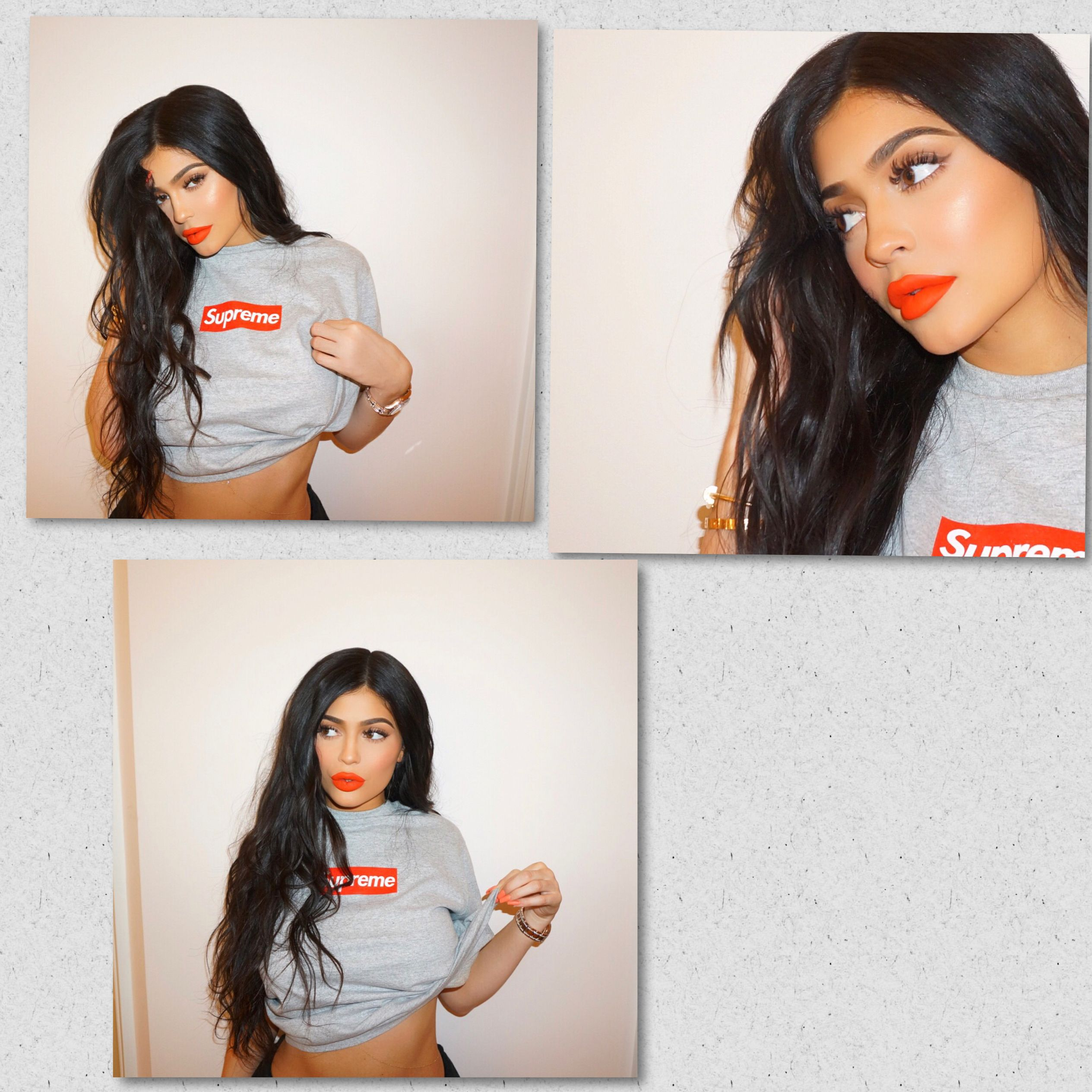 kyliejenner wearing DOLL matte lip today from the new koko 4
