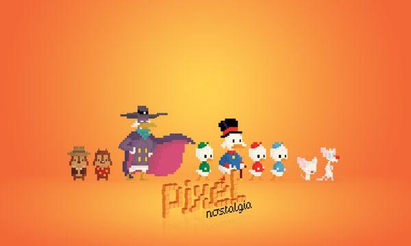 A Nostalgia Em Forma De Pixels, Por Boo! Studio