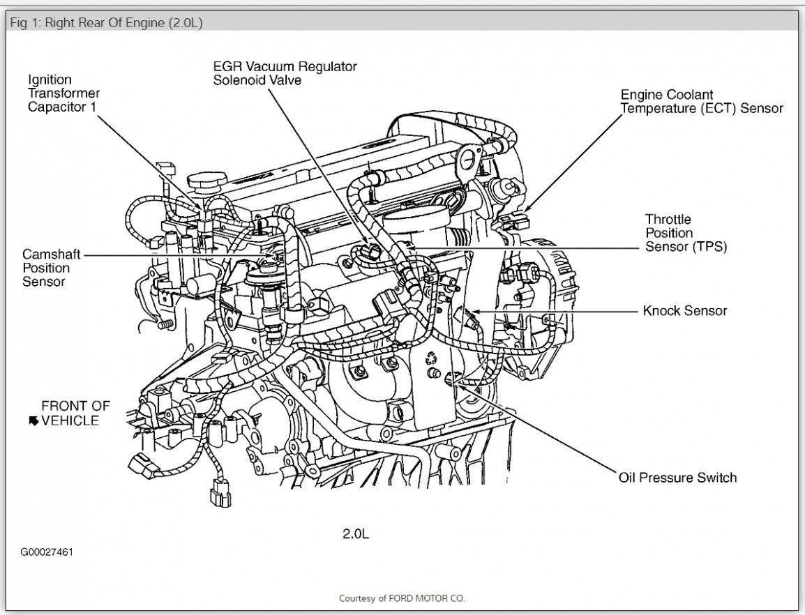 5 Ford Escape Engine 5.5 L V5 Diagram 5 Ford Escape Engine