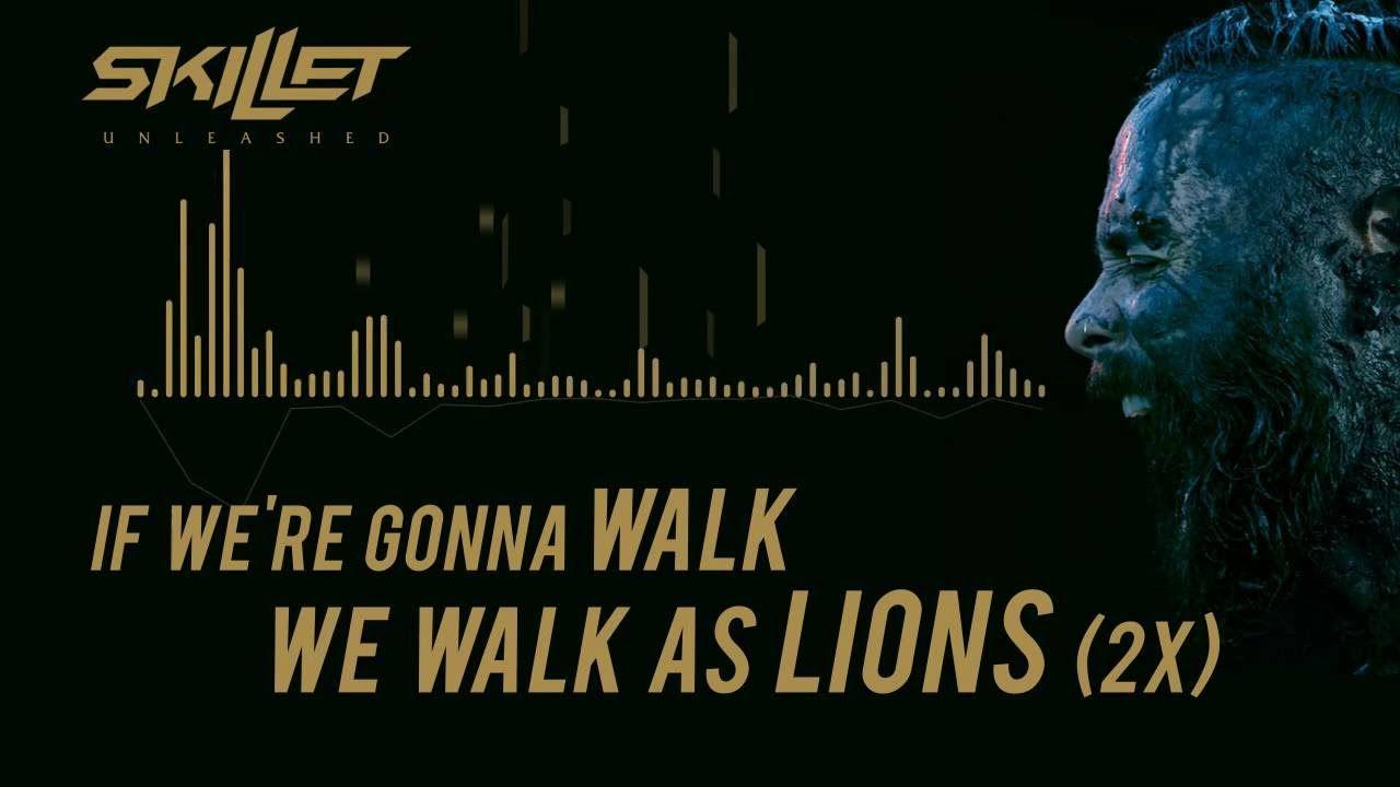 Skillet - Lions [Lyrics Video] - YouTube | Musica gravitas
