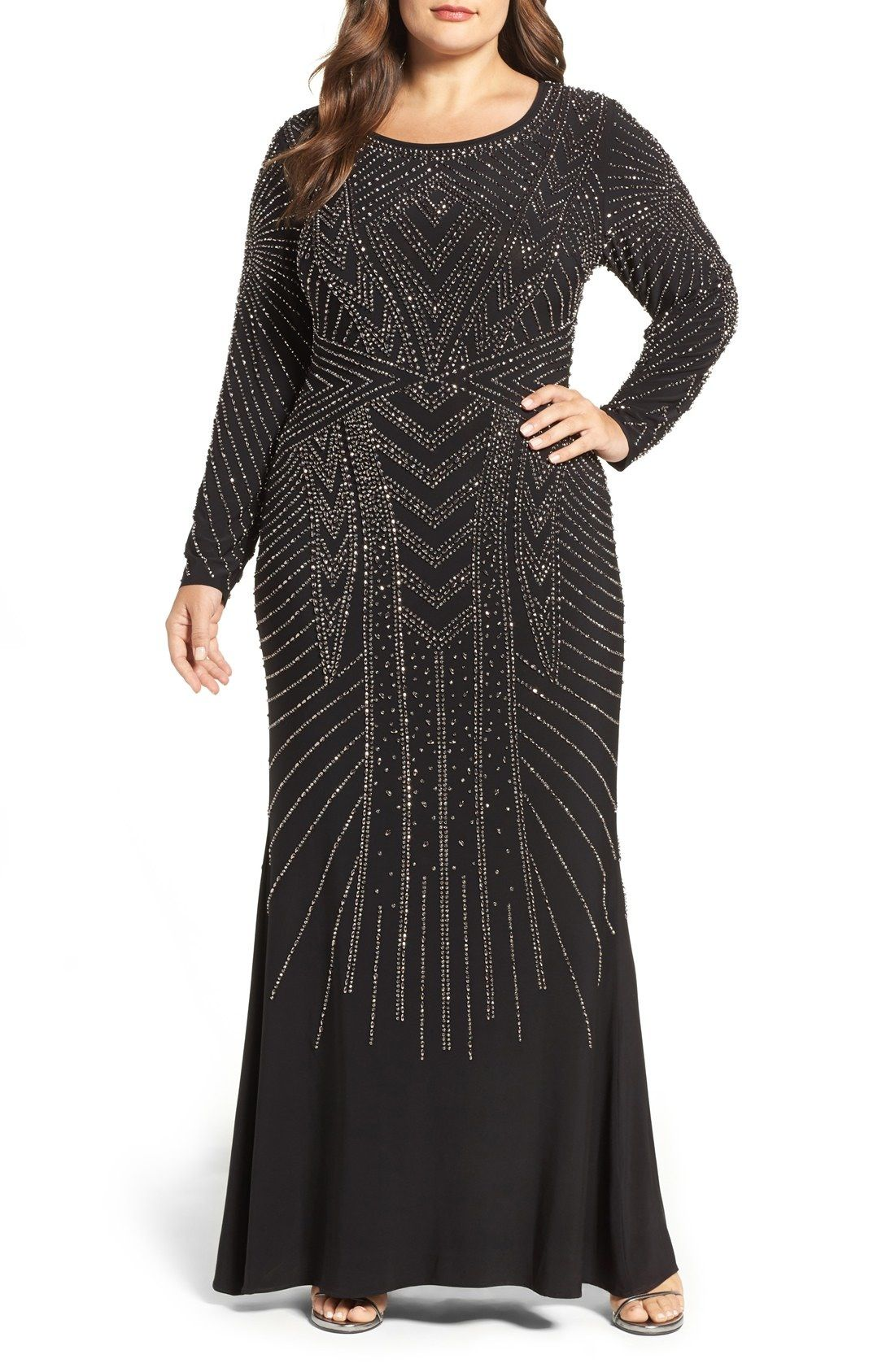 ab179349de0 Xscape Embellished Gown available at  Nordstrom