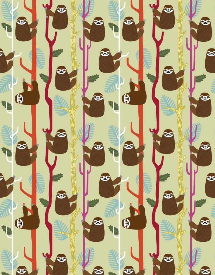 My Sloth Wallpaper It Would Be Most Fitting In The Bathroom Since Takes Me So Long To Get Ready