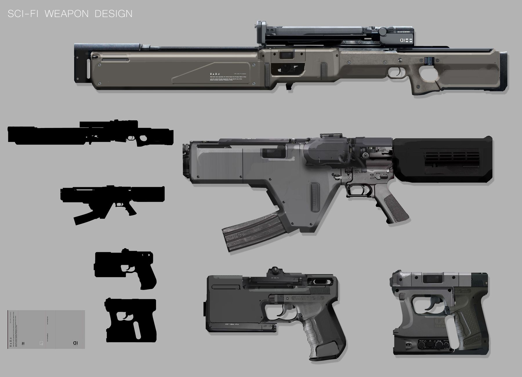 intro to concept props weapon design cosplay scifi