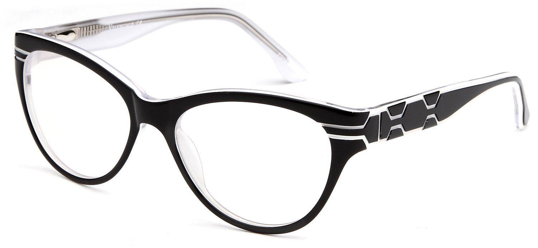 Amazon.com: Womens Cat Eye Prescription Glasses Fashion Frames in ...