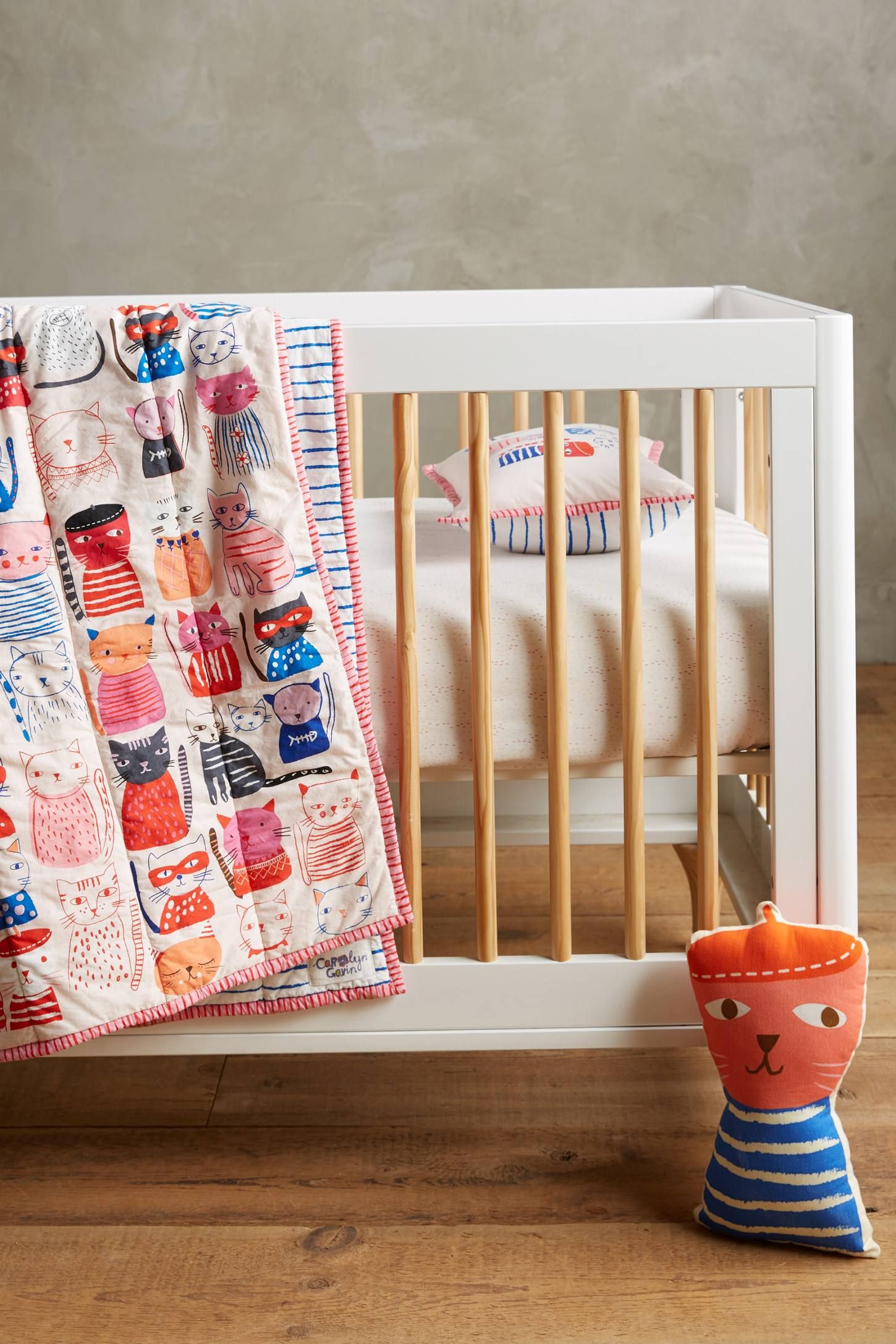 Carolyn Gavin Cat Collective Kids Quilt Toddler quilt