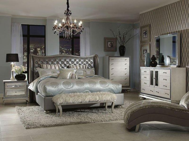 Look What I Found At Cardi S Furniture Glamourous Bedroom