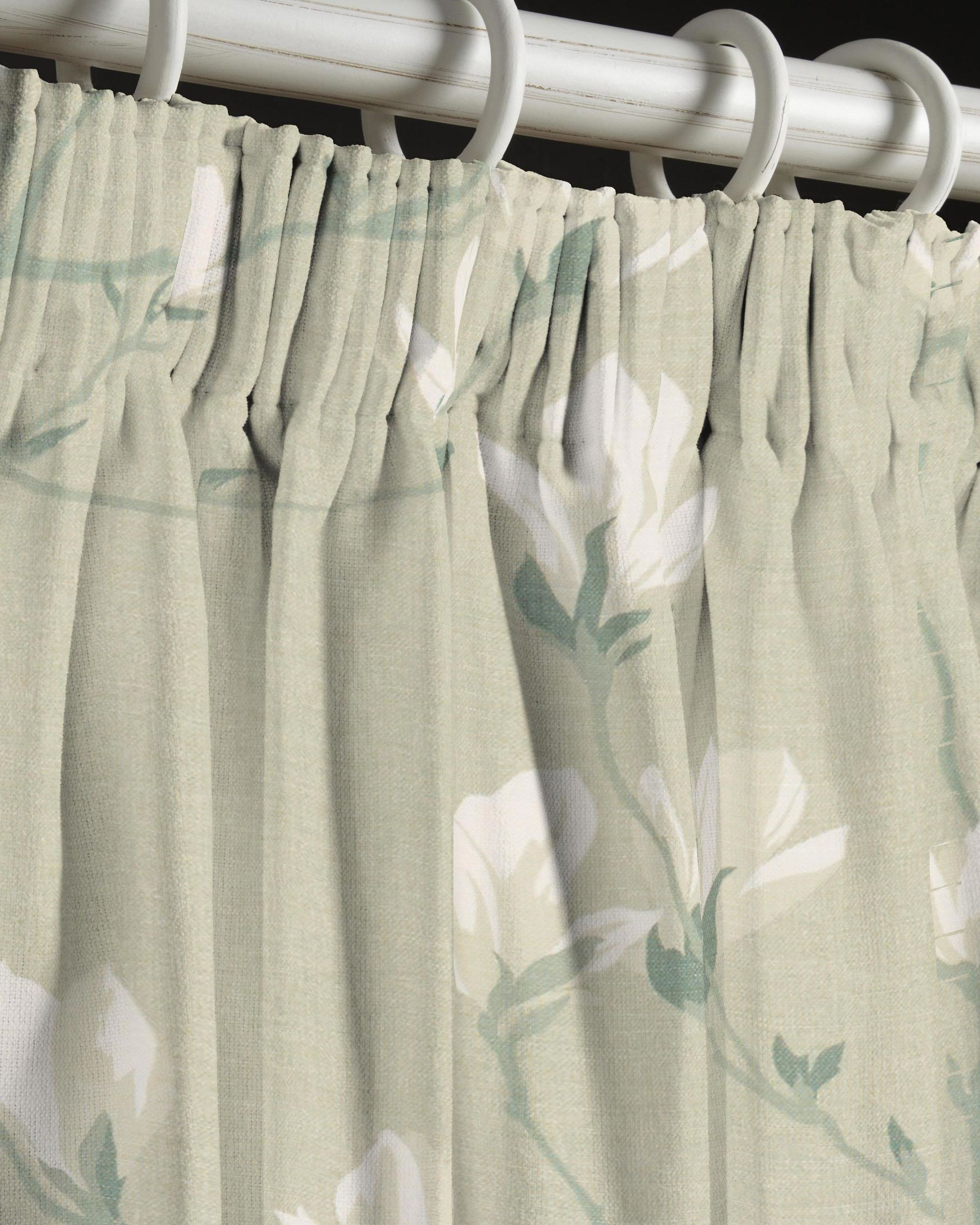 Made To Measure Curtains In Magnolia Grove Hedgerow