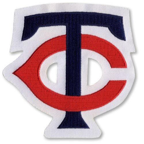 "Minnesota Twins ""TC"" Retro MLB Baseball Jersey Sleeve Patch 1987-2001"