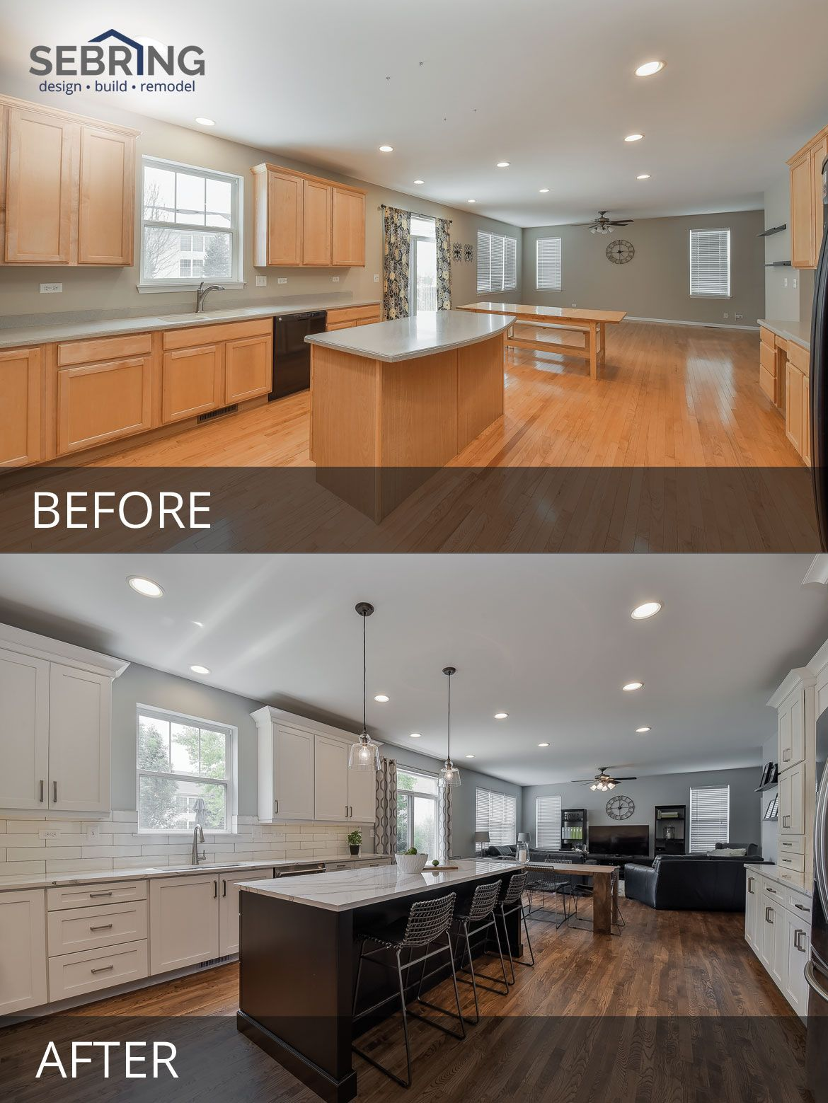 Pete & Mary's Kitchen Before & After Pictures In 2019