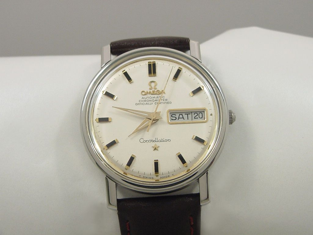 1968 OMEGA CONSTELLATION CHRONOMETER WITH DAY/DATE