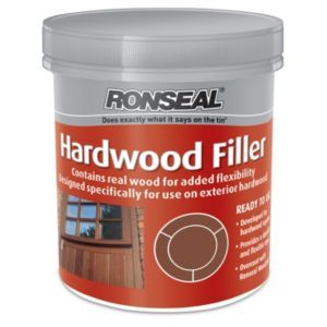 Ronseal Hardwood Filler 465g 35814 Ronseal Hardwood Filler 465g This Wood Filler From Ronseal Comes Ready To Use And Is Perfect For R Hardwood Wood Filler Wood