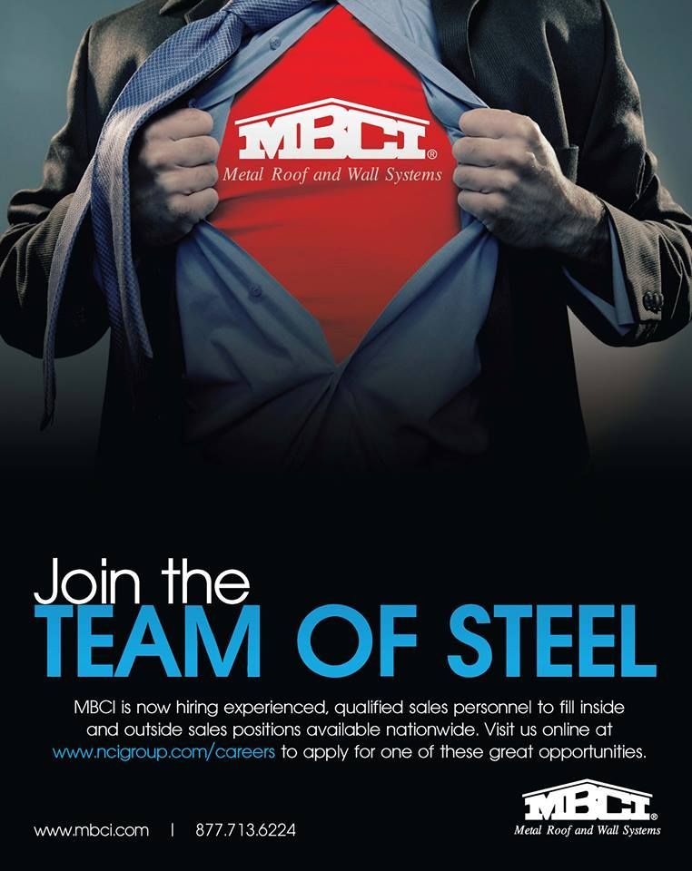Best Join The Team Of Steel We Re Looking For Experienced 400 x 300