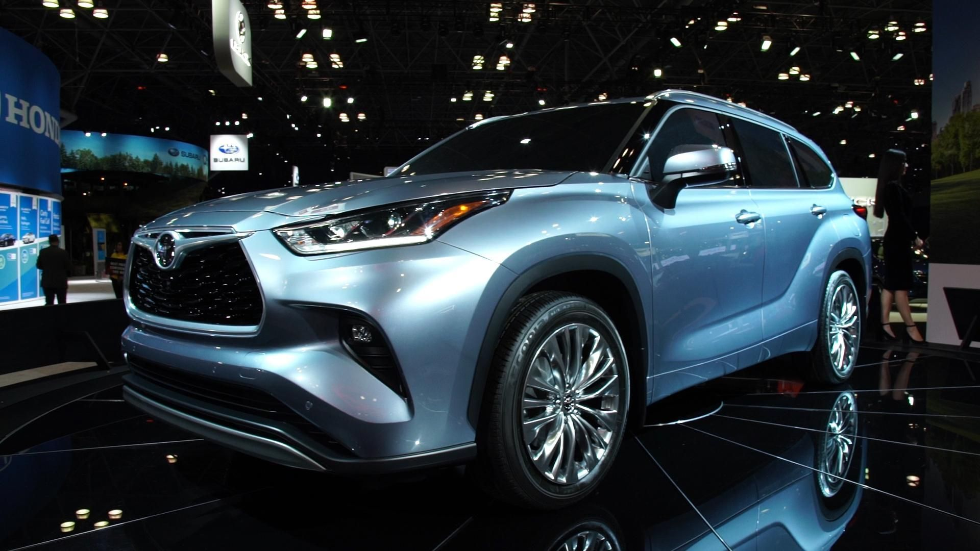 The 2020 Toyota Highlander SUV Latest information about