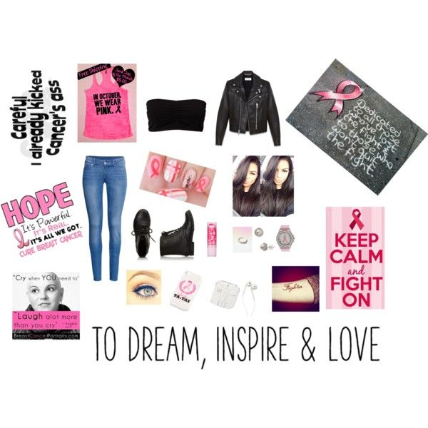 Let's Dedicated this to all those who've lost the fight & to those who won't quit the fight. Be a Fighter, Not a Quiter :) by wibi29 on Polyvore featuring polyvore fashion style Yves Saint Laurent H&M Pieces Free People Nadri Forever 21