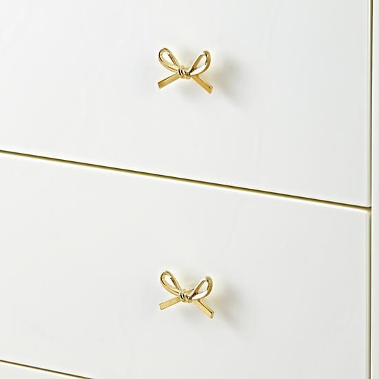 Gold Bow Knob Reviews Crate And Barrel Hardware