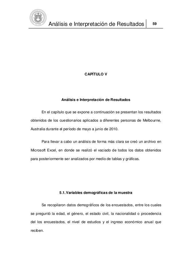 Análisis e Interpretación de Resultados 59 CAPÍTULO V Pinterest - construction project proposal
