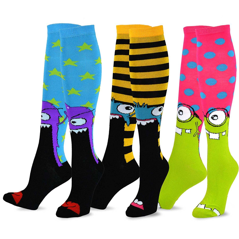 6 Pairs Women Girls Fashion Cotton School Casual Low Cut Socks Size 9-11 argyle