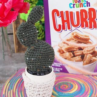 #newyearnewflavors #succulents #stitching #available #cinnamon #inspired #measures #obsessed #walmart #churros #pattern #crochet #details #cactus #latelyTassle Clutch Crochet Pattern - Julie Measures I'm obsessed with succulents and cactus plants. Lately I've been busy stitching up my own! This FREE crochet cactus pattern was inspired by the new Cinnamon Toast Crunch Churros available at @Walmart. Click on the link in my bio to grab the pattern and get all the details.I'm obsessed wit... #cinnamontoastcrunch