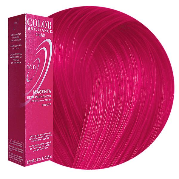 Magenta Semi Permanent Hair Color Ion Brilliance Fashion And Coloring