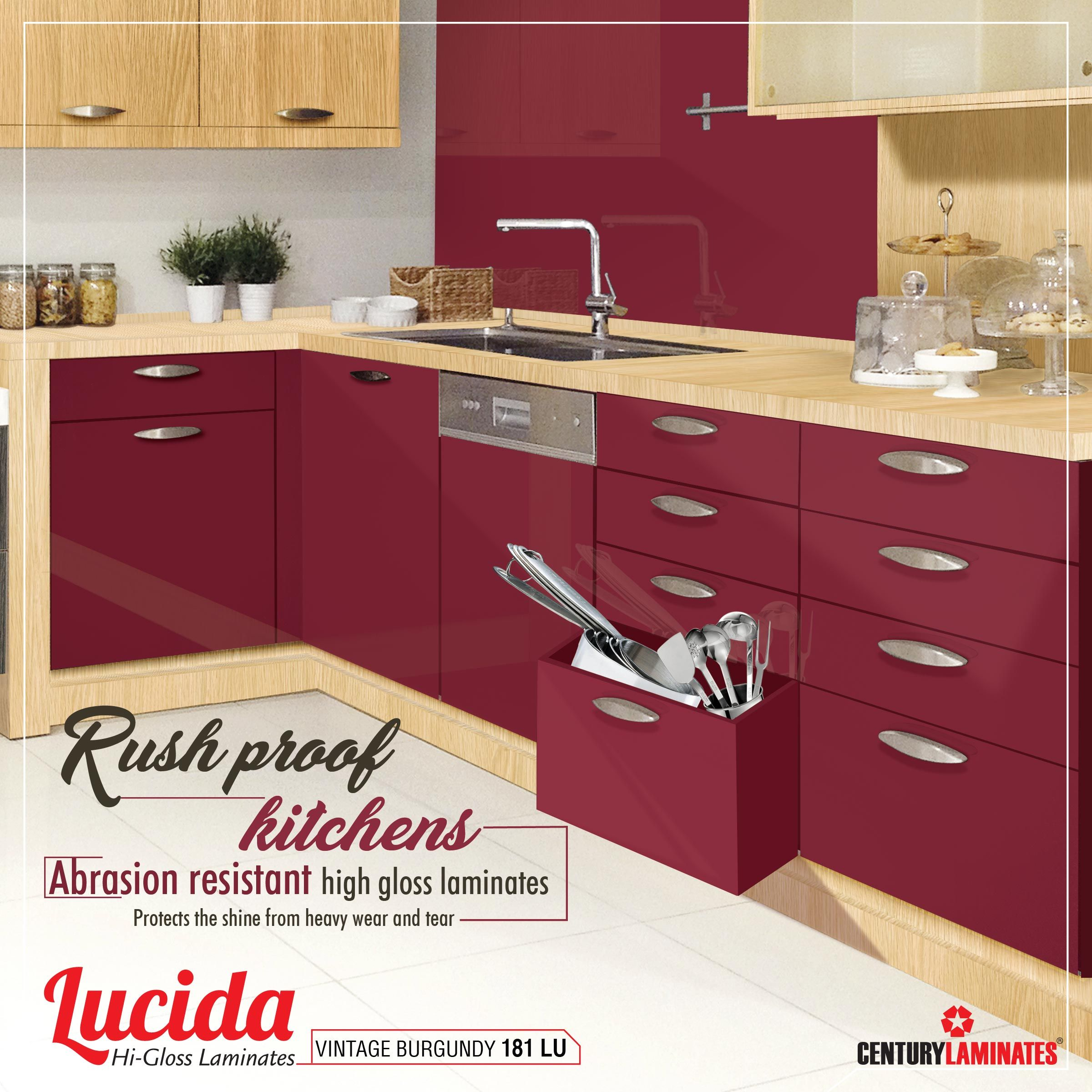 Lucida High Gloss Laminates Is Abrasion Resistant Best Choice