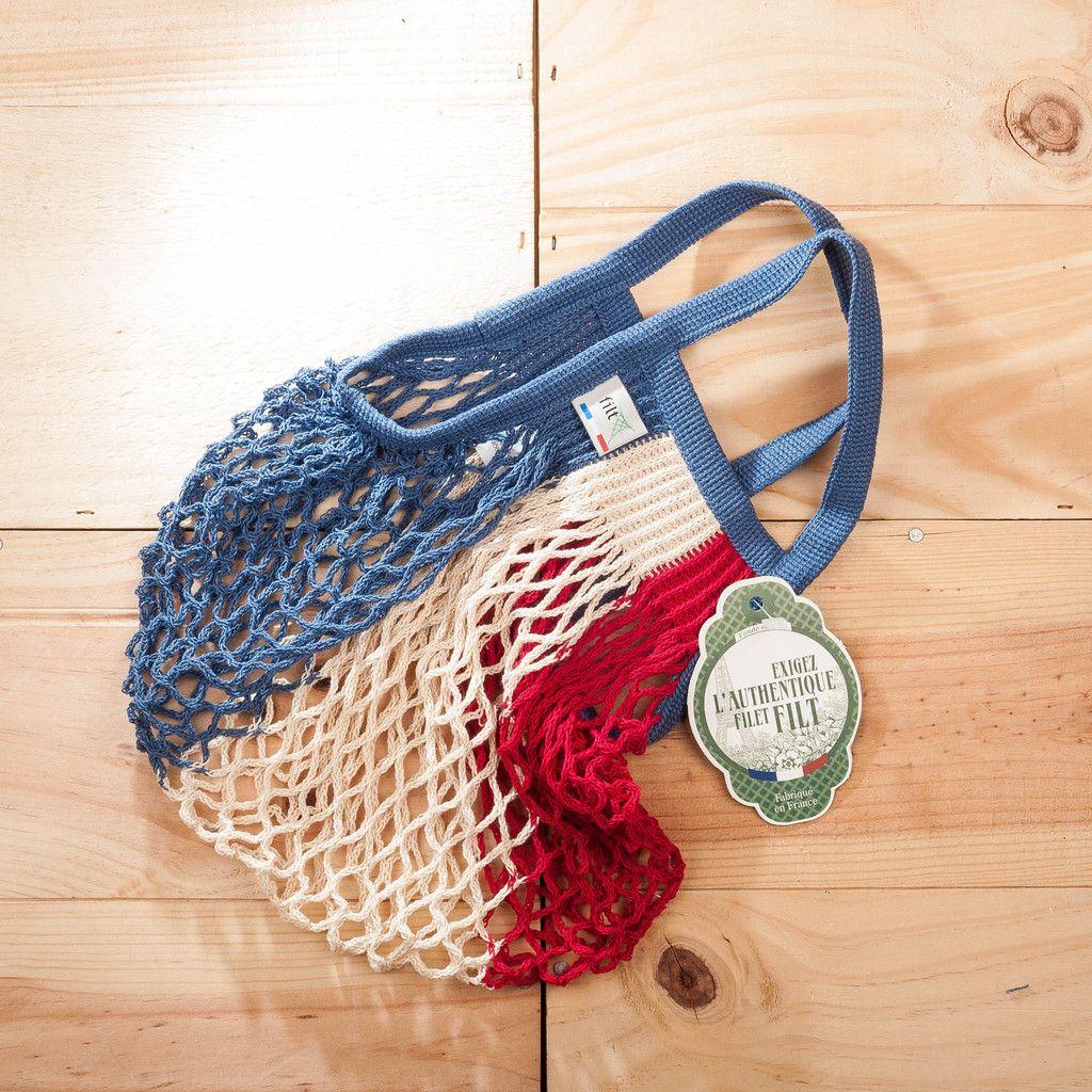 Einkaufsnetz Bleu Blanc Rouge Pinterest