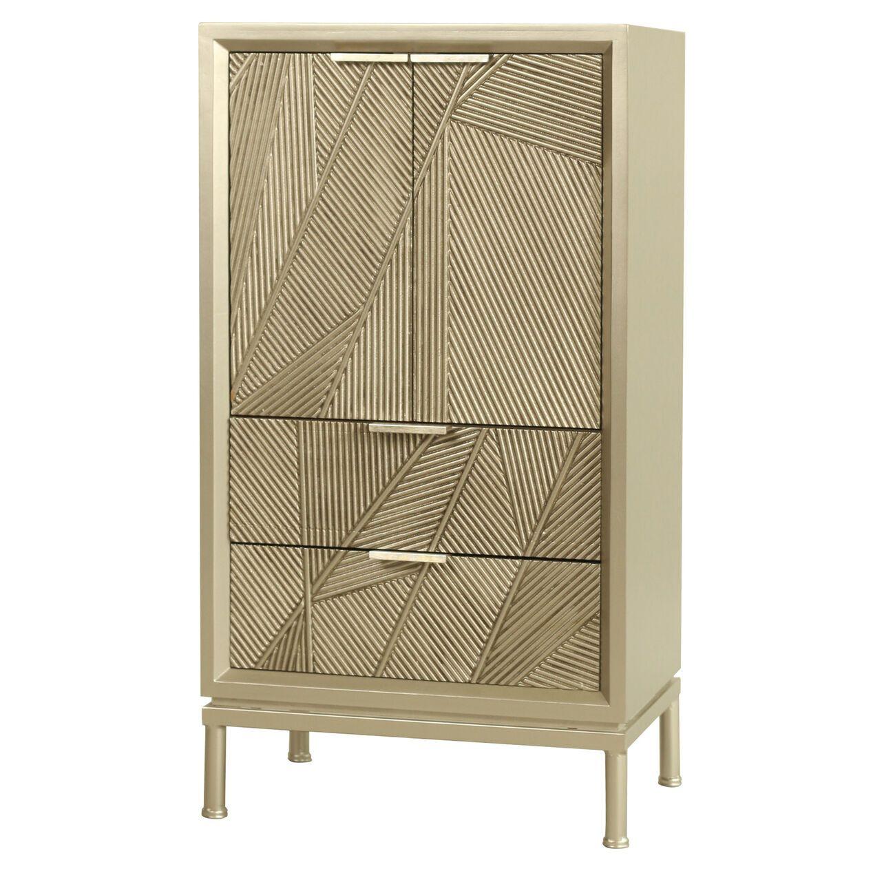 Leon Ribbed Cabinet 40h College Dorm Room Decor Cabinet Affordable Furniture