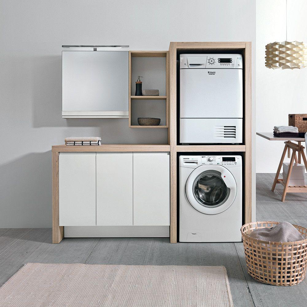 Idee Per Mobile Per Lavatrice E Asciugatrice Ikea Immagini Che Decora Per Una Casa Arredamento Lavanderia Arredamento Lavanderia