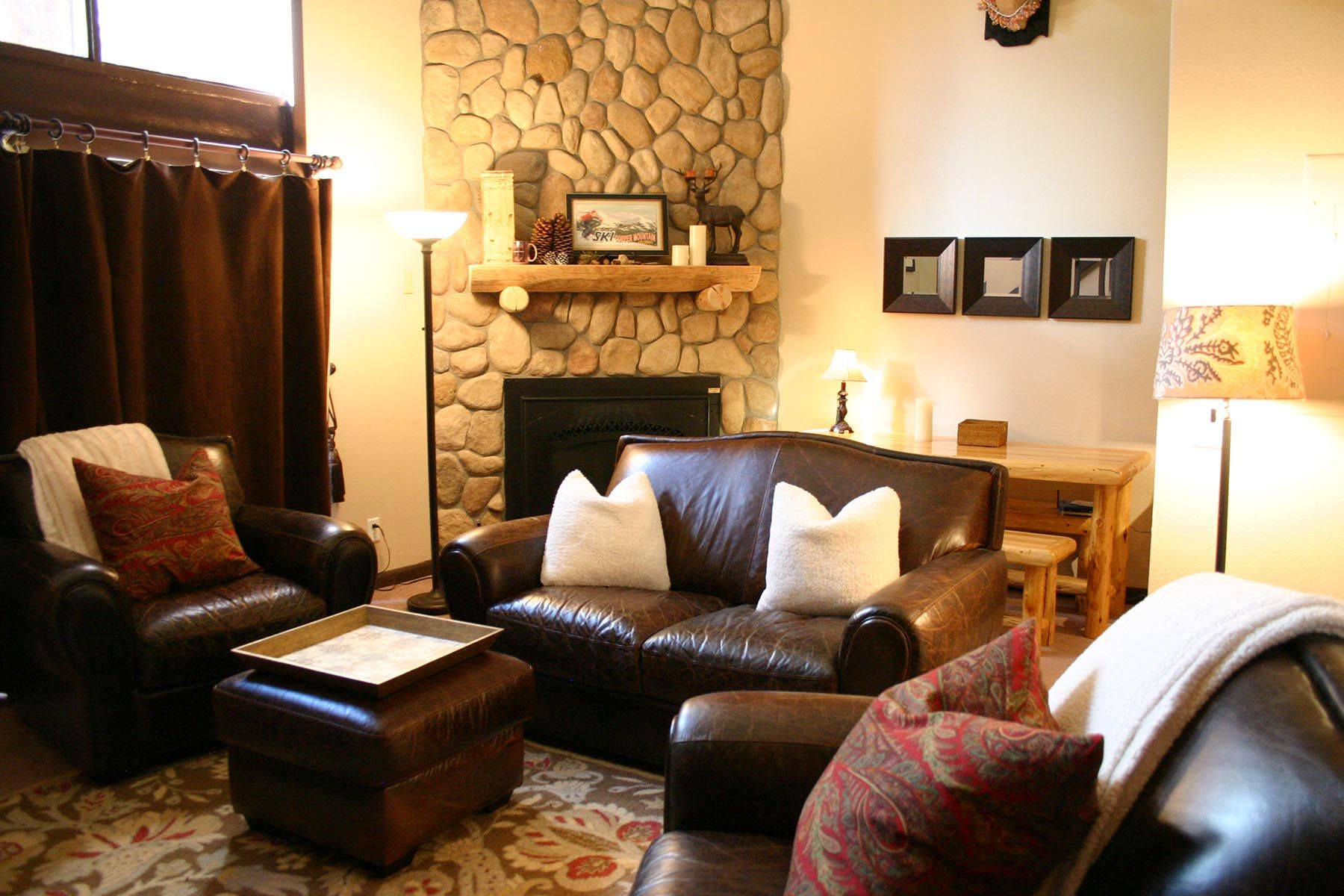 Copper mountain lodging three bedroom cozy is nice but its better