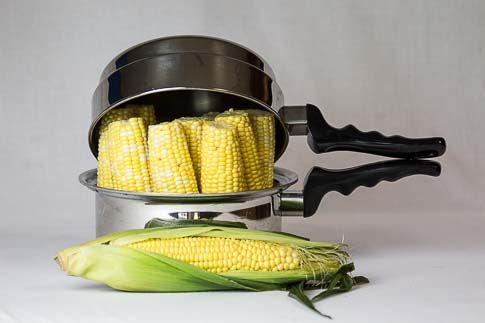 Corn-on-the-Cob Waterless Method - I Love My KitchenCraft Cookware ...