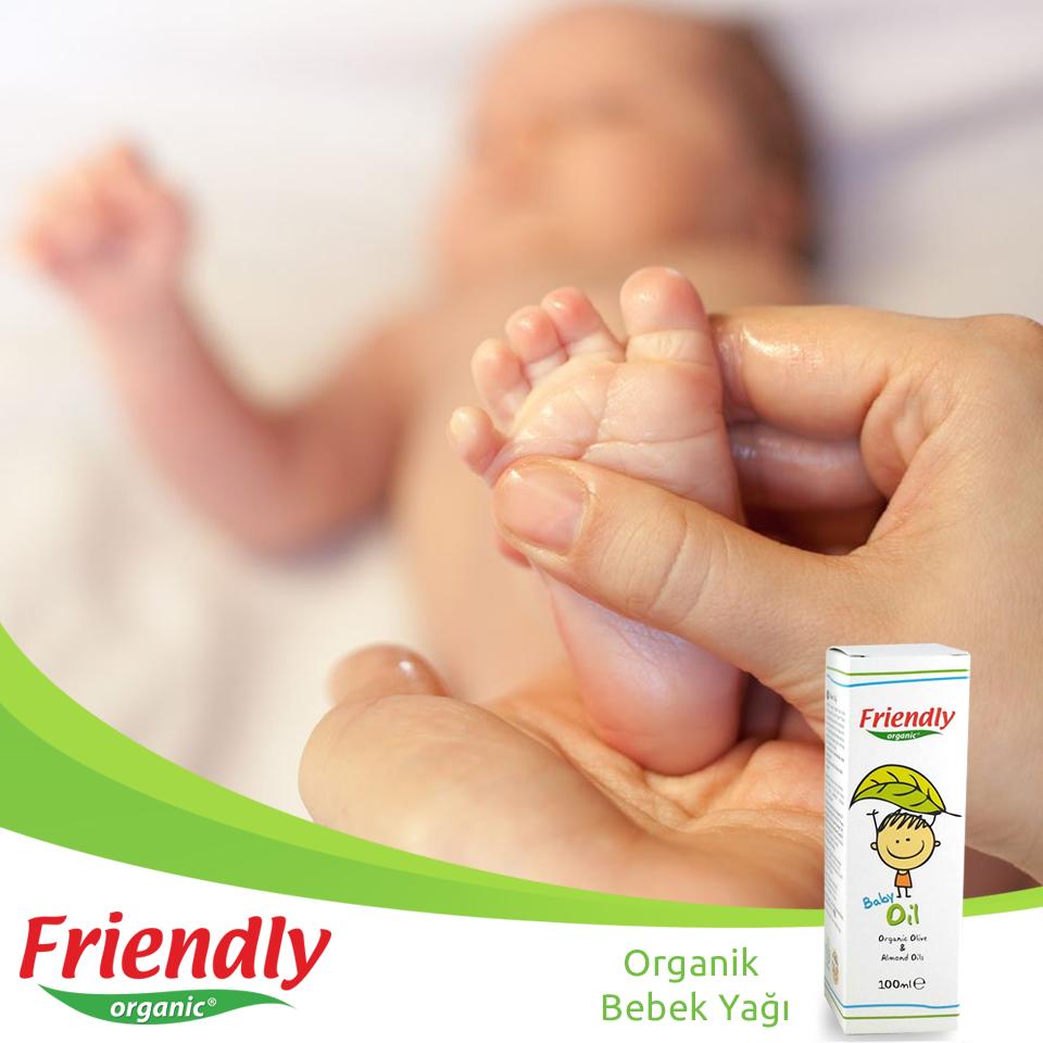 Cildinizi bebek yağı ile koruyun
