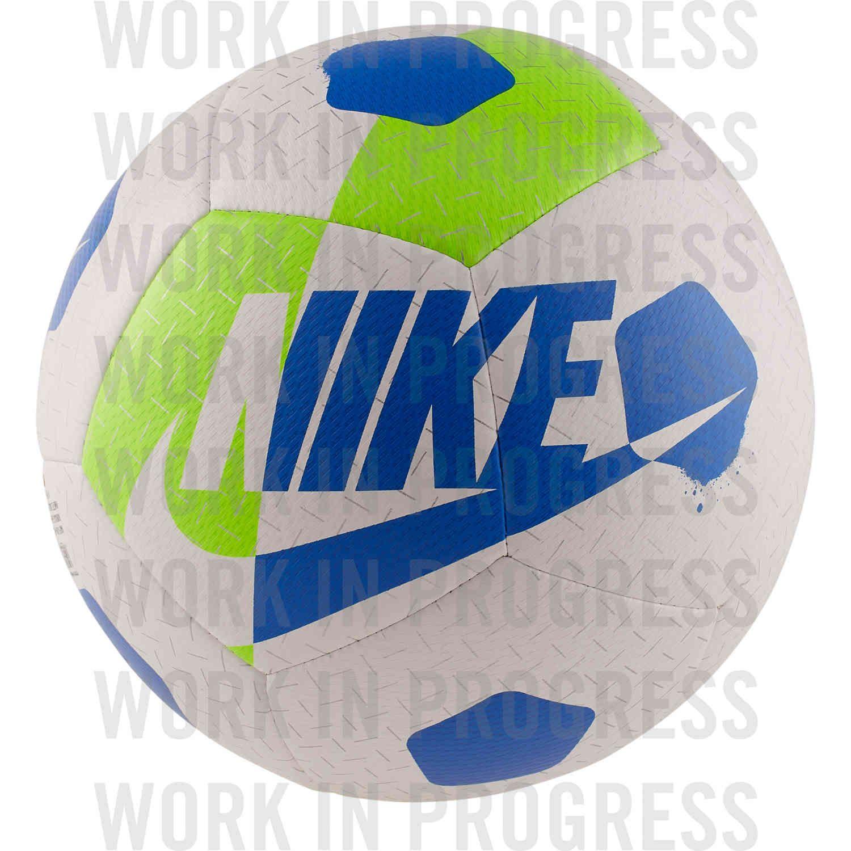 Nike Akka Street Soccer Ball White Volt Hyper Cobalt Soccerpro Street Soccer Ball Soccer Ball Street Soccer