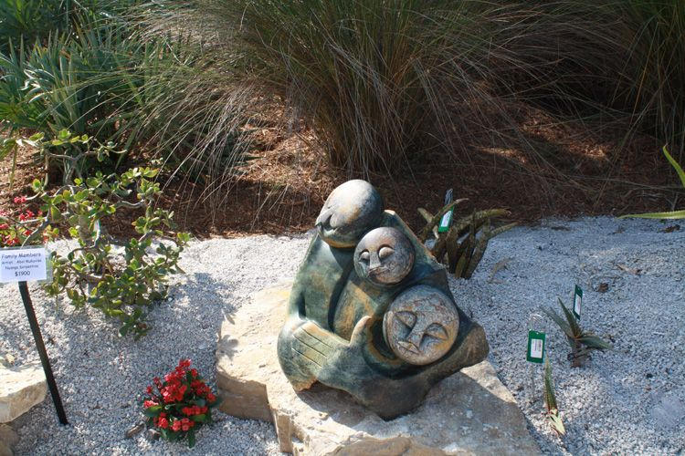 Family Members Garden sculpture, Outdoor decor, Family