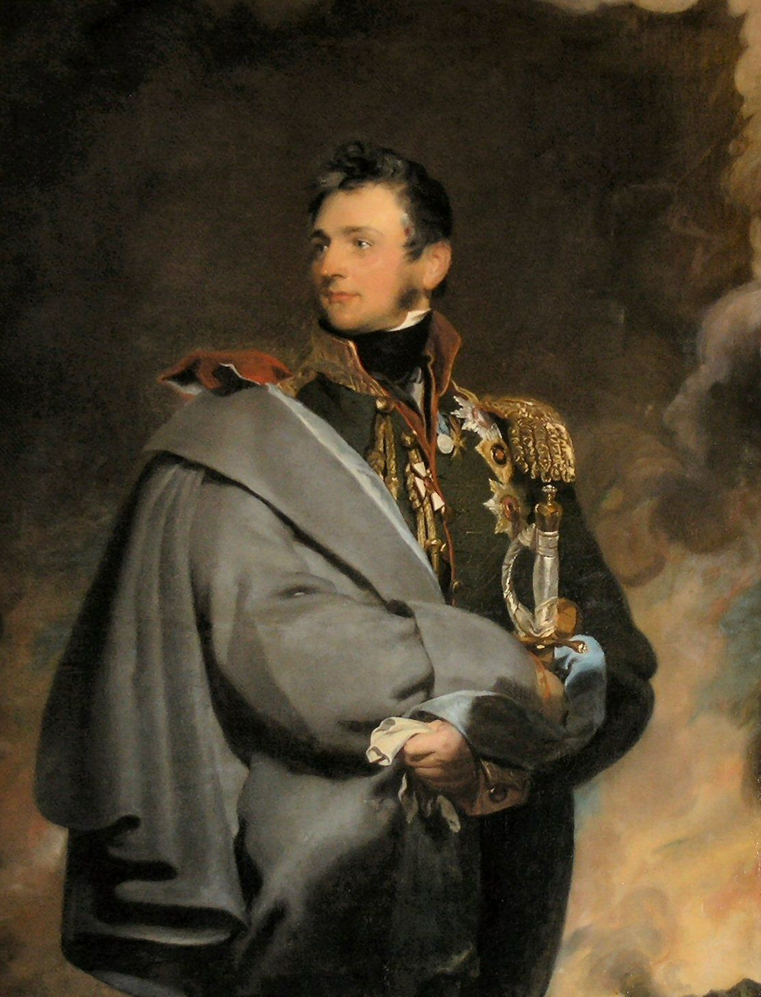 Portrait of Prince Mikhail Vorontzov, 1821 by Thomas Lawrence (English
