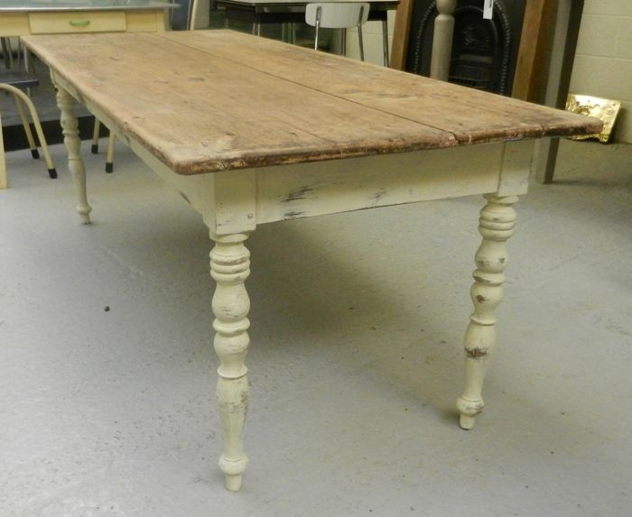 95c5848e77a0f Pine Farmhouse kitchen table for sale on SalvoWEB from MASCo Architectural  Salvage in Gloucestershire  Salvo code dealer