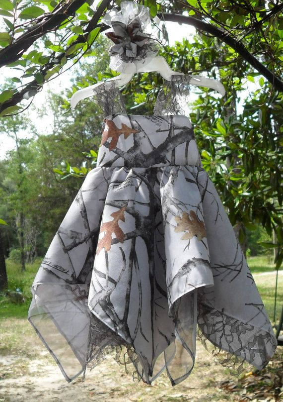 Elegant White  Spring to fall Camo & gray by camoandcountrycuties