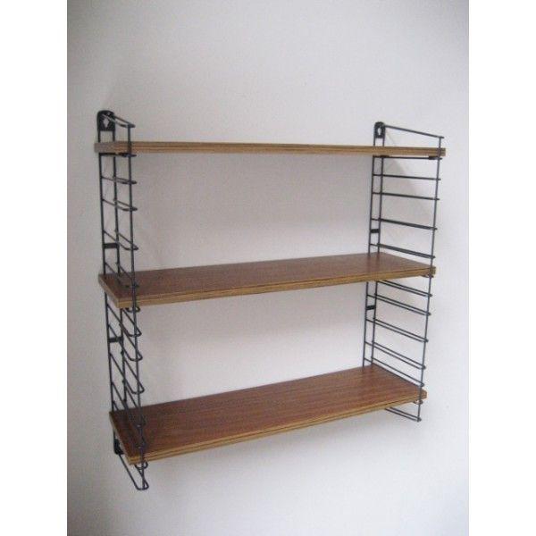 tomado-wandrek-met-3-teak-houten-planken-tomado-wall-rack-with-three ...