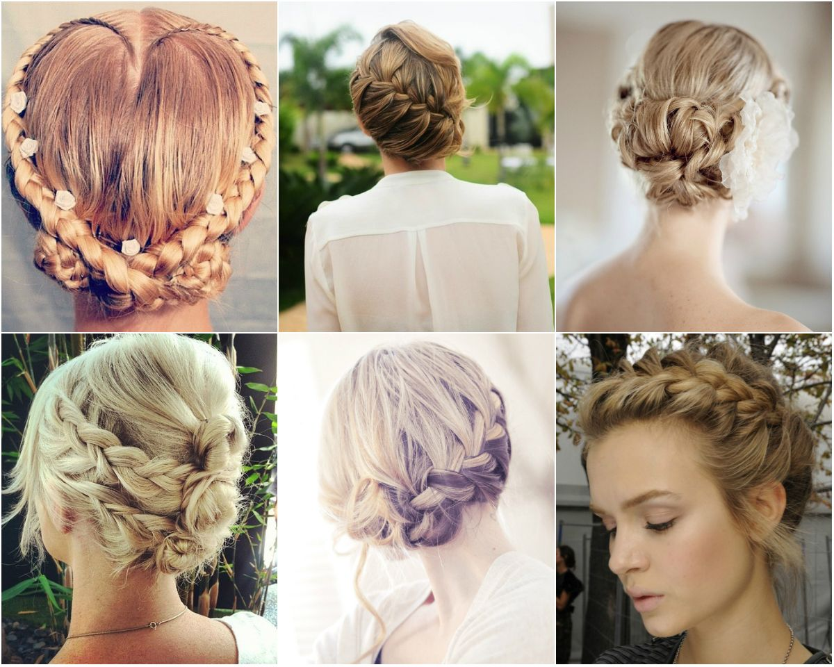 Strange 1000 Images About Hairstyles On Pinterest Hairstyles For Prom Short Hairstyles Gunalazisus