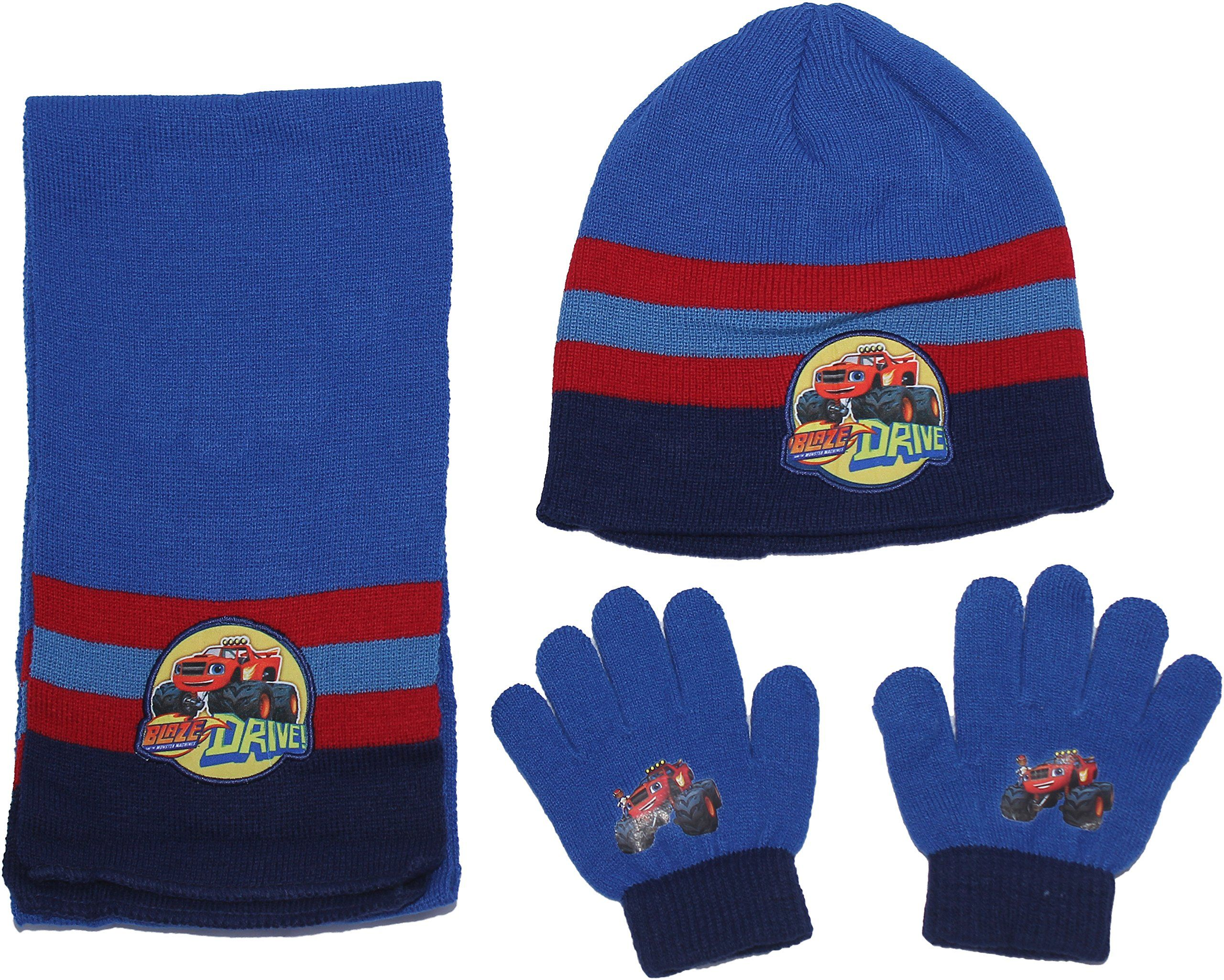 exclusive range online retailer amazing price Blaze and The Monster Machines Winter Hat Scarf and Glove Set By ...