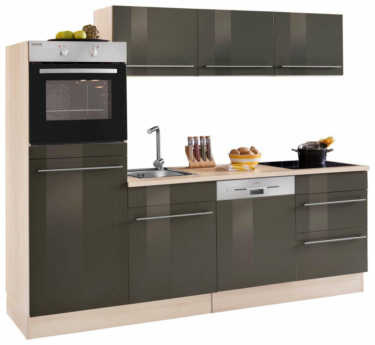Kuchenzeile Bern Ohne E Gerate Breite 240 Cm Mit Hohenverstellbaren Fussen In 2020 Kuchenzeilen Innenarchitektur Kuche Und Kuche