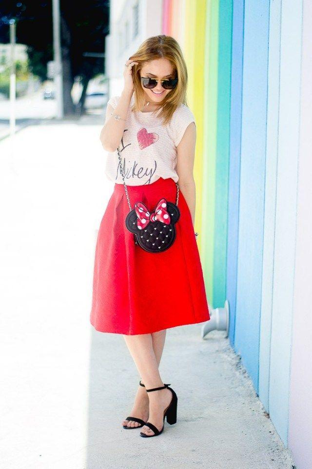 love mickey Minnie Disney Bounding fashion Magic Kingdom ...