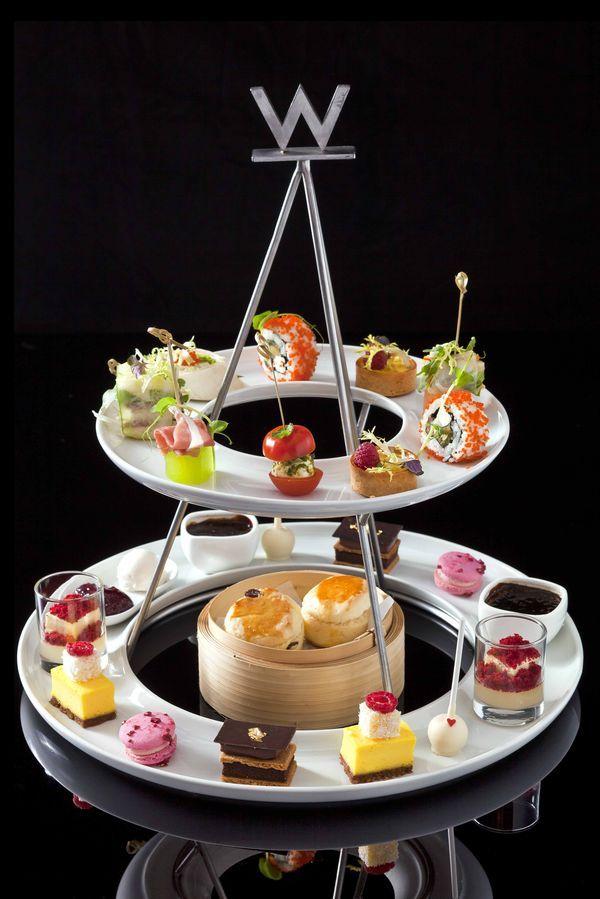 W Hotel London Afternoon Tea